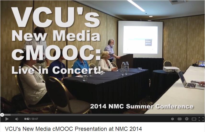NMC cMOOC presentation